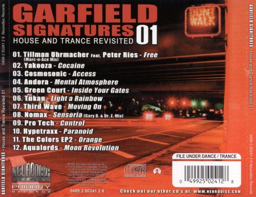 Garfield's Signatures: House and Trance Revisited