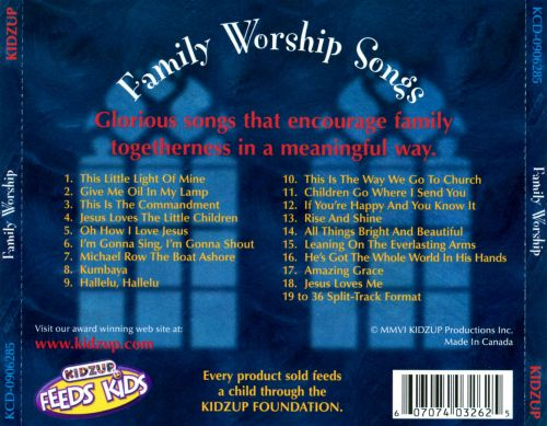 Family Worship Songs