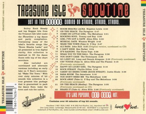 Treasure Isle Showtime