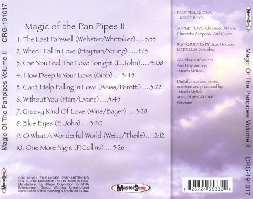 Magic of The Panpipes, Vol. 2