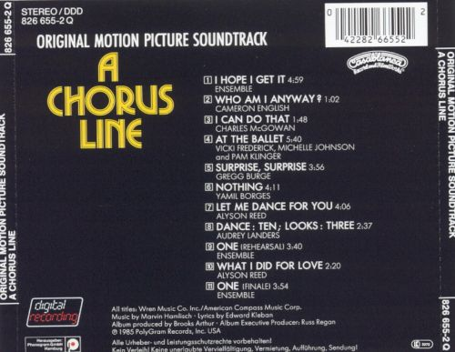 A Chorus Line [Original Motion Picture Soundtrack]