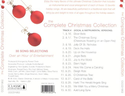 The Complete Christmas Collection [Classic]