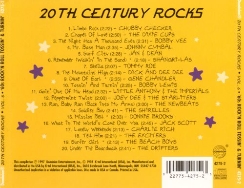 20th Century Rocks, Vol. 6: '60s Rock N Roll - Tossin' and Turnin'