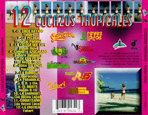 12 Cocazos Tropicales