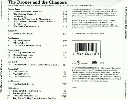 The Drones and the Chanters: Irish Pipering