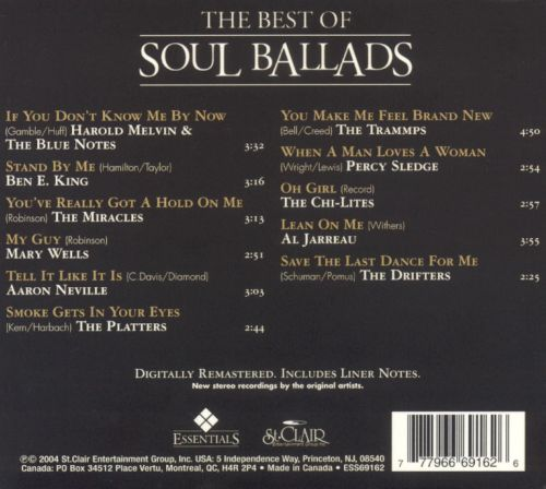 The Best of Soul Ballads [St. Clair 2004]