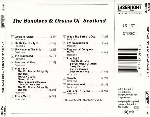 Bagpipes & Drums of Scotland, Vol. 1