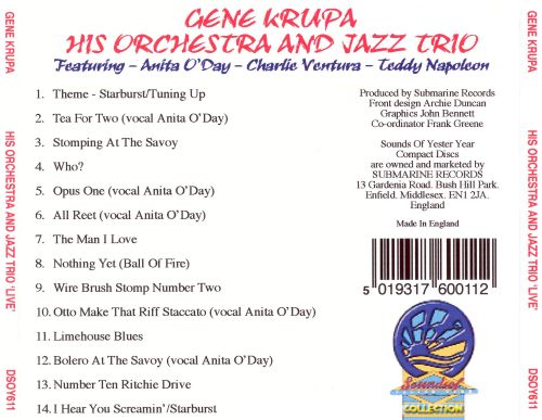 His Orchestra and the Jazz Trio