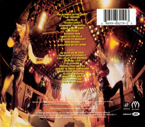 A Real Live Dead One - Iron Maiden | Songs, Reviews ...
