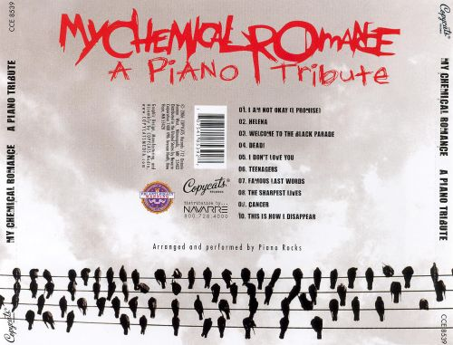 Piano Tribute To My Chemical Romance, Vol. 2