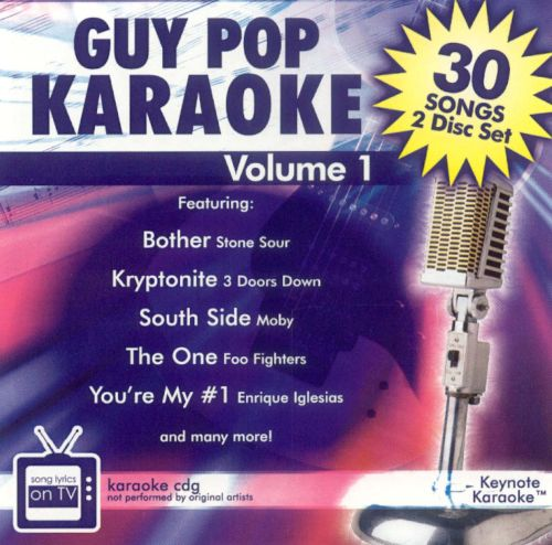 Guy Pop Karaoke, Vol. 1