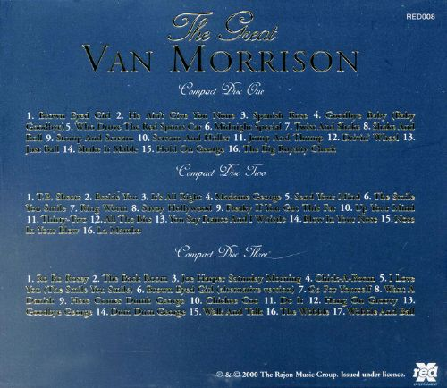 The Great Van Morrison [Red X]