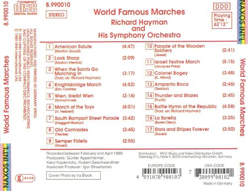 World Famous Marches