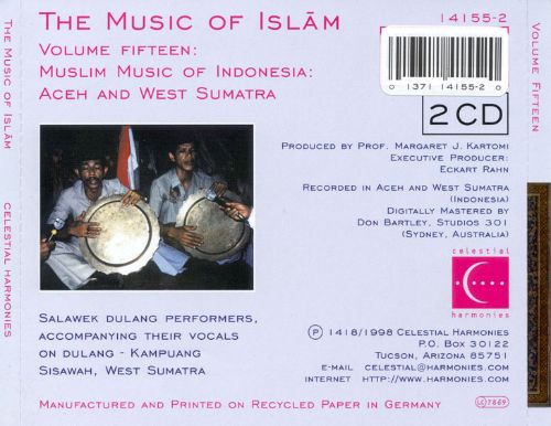 Music of Islam, Vol. 15: Muslim Music of Indonesia