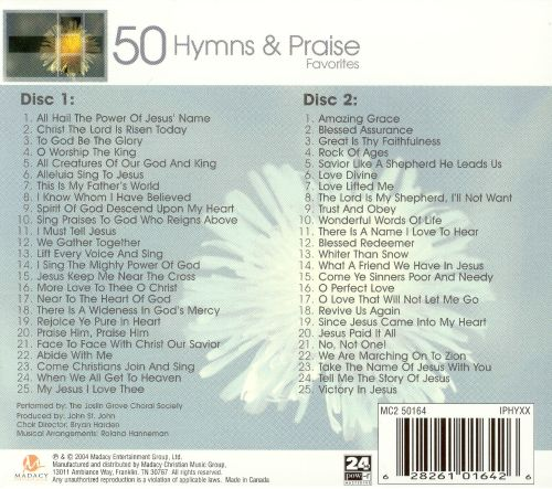 50 Hymns and Praise Favorites