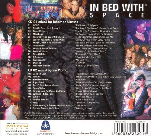 In Bed with Space, Pt. 6: Mixed by Jonathan Ulysses & DJ Sin Plomo