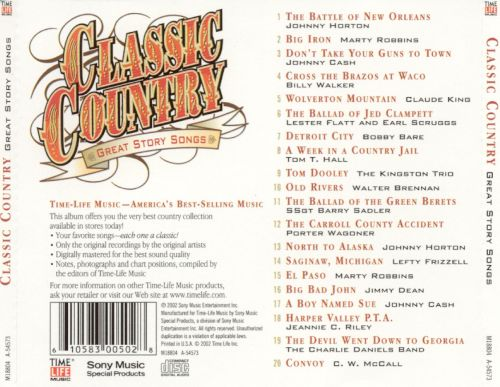 Country songs classic