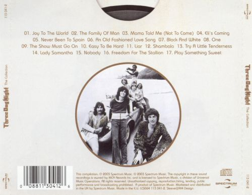 The Collection - Three Dog Night | Songs, Reviews, Credits | AllMusic
