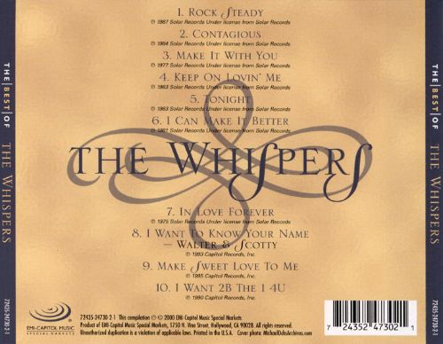 The Best of the Whispers [EMI-Capitol Special Markets]