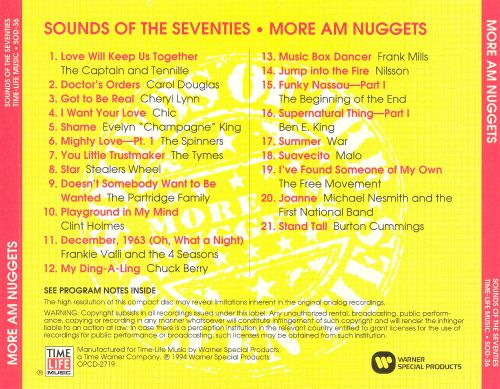 Sounds of the Seventies: More AM Nuggets