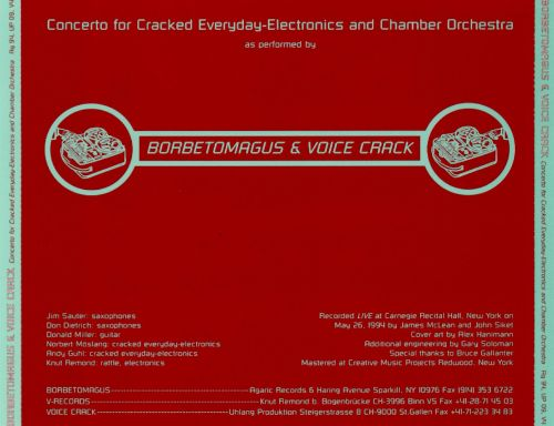 Concerto for Cracked Everyday Electronics and Chamber Orchestra