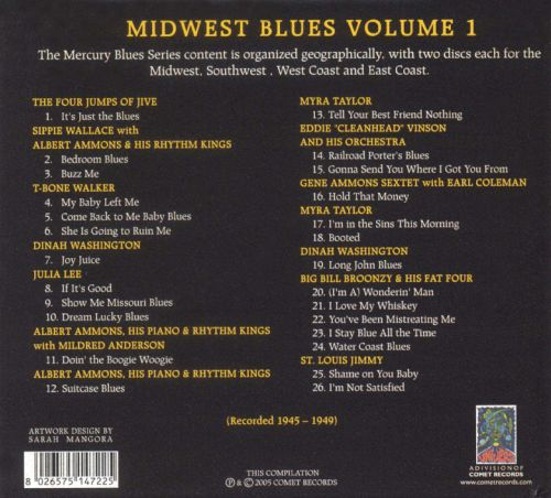 The Mercury Blues Story: Midwest Blues, Vol. 1