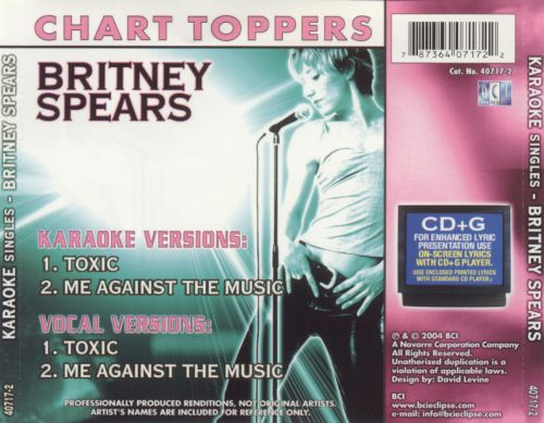Britney Spears: Toxic/Me Against the Music