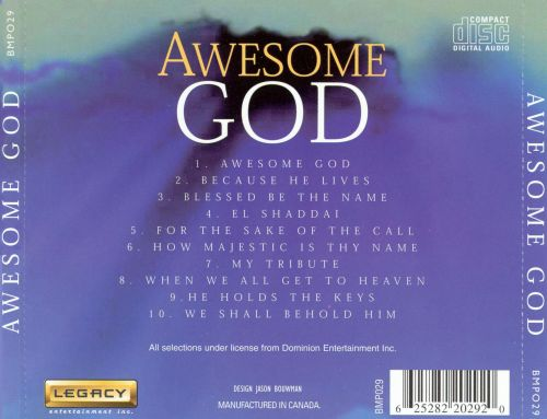 Awesome God: Songs of Inspiration