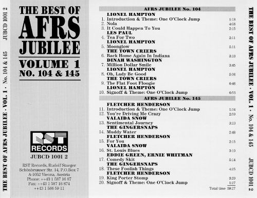 Best of AFRS Jubilee, Vol. 1