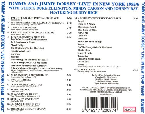 Live in New York 1955-1956