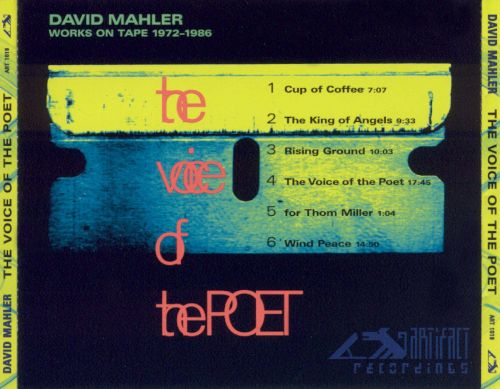 The Voice of the Poet: Works On Tape 1972-1986