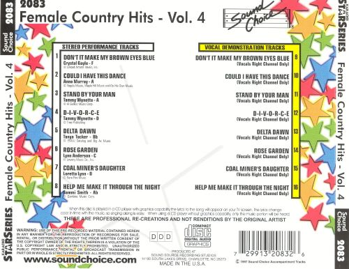 Female Country Hits, Vol. 4 [2002]