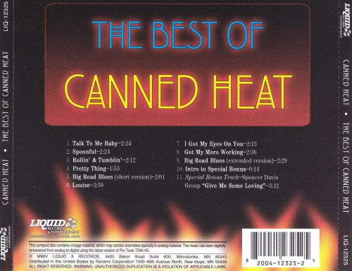 The Best of Canned Heat [Liquid 8]