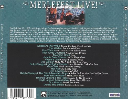 Merlefest Live! The Best of 2003
