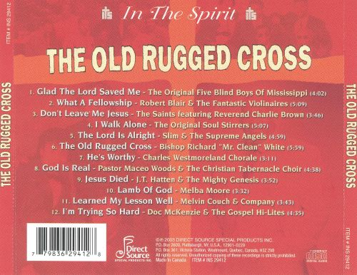 In the Spirit: The Old Rugged Cross