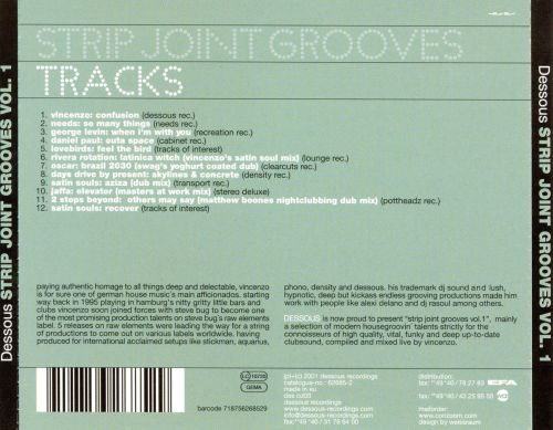 Strip Joint Grooves, Vol. 1