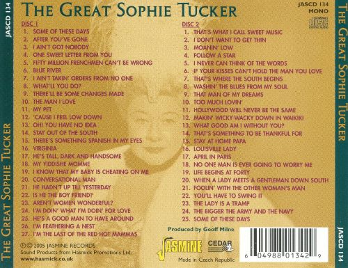 Great Sophie Tucker