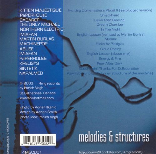 Melodies & Structures, Vol. 1