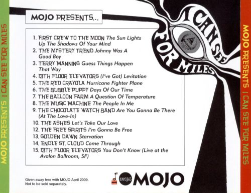 Mojo Presents: I Can See for Miles