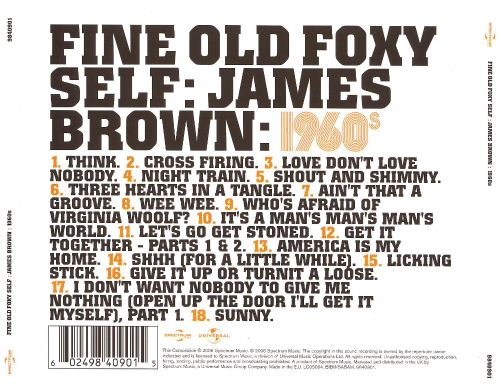 Fine Old Foxy Self: James Brown 1960s