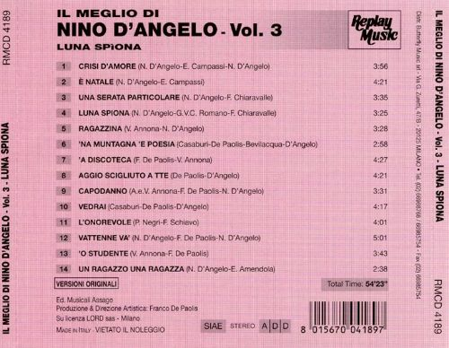 Best of Nino D'Angelo, Vol. 3