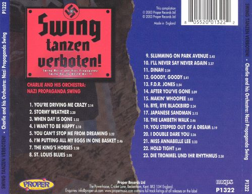 Swing Tanzen Verboten! Charlie and His Orchestra: