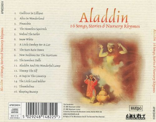 Aladdin: 16 Songs, Stories & Nursery Rhymes