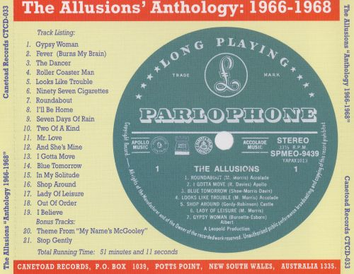 Anthology 1966-1968