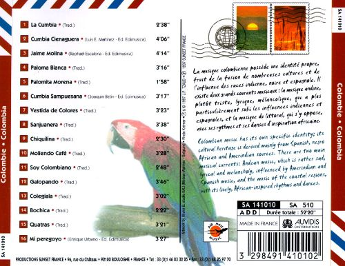 Air Mail Music: Colombia