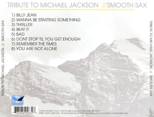 A Tribute to Michael Jackson: Smooth Sax