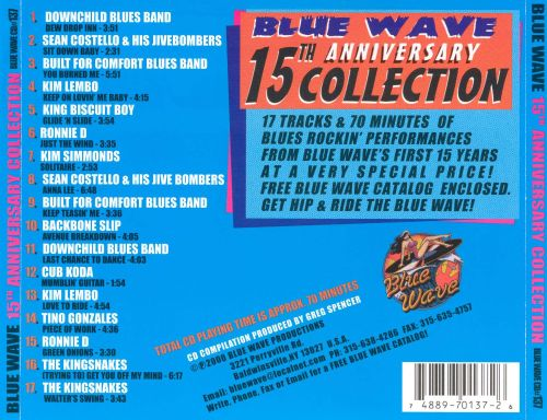 Blue Wave: 15th Anniversary Collection