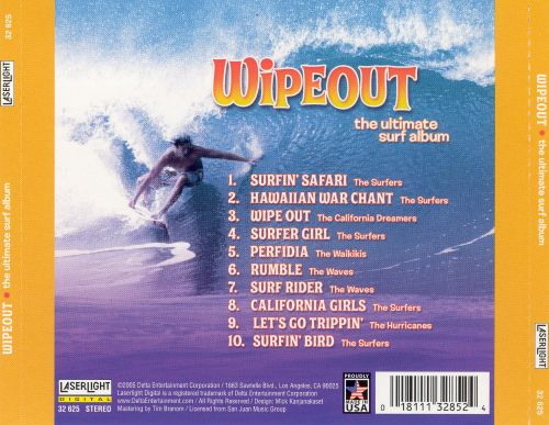 Wipeout The Ultimate Surf Album Various Artists Release Info