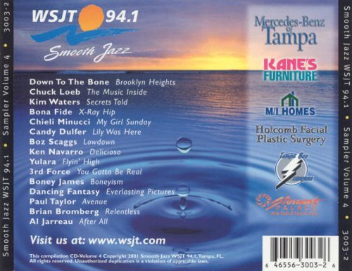 WSJT 94.1: Smooth Jazz, Vol. 4