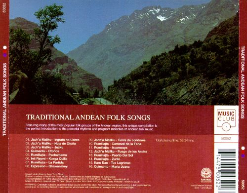 Traditional Andean Folk Songs [Music Club]